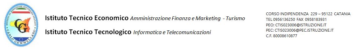 Istituto di istruzione superiore  Carlo Gemmellaro – Catania